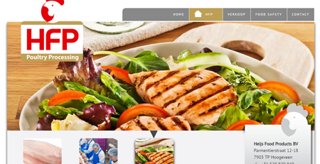Website Heijs Food Products Food Processing (5-talig)