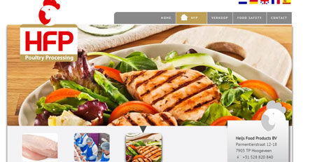 Website International Heijs Food Products Food Processing  Hoogeveen(5-talig)