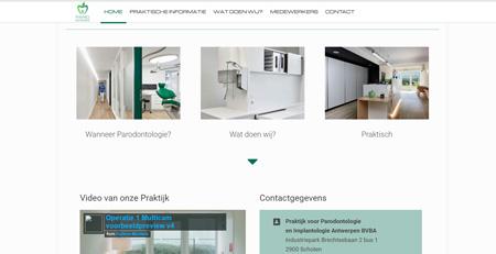 Parodontologie kliniek in Antwerpen