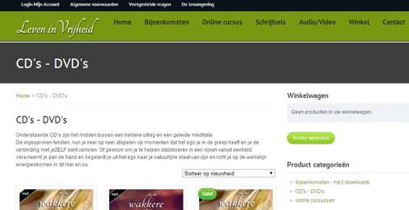 WooCommerce Webwinkel, online events & Lezingen mbt gezondheid