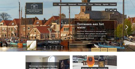 Website t.b.v Restaurant en IJssalon